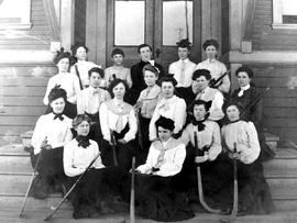 The Vancouver Women's field hockey team