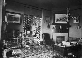 """Highlands"", the home of William James Macaulay; 1636 Rockland Avenue, Victoria; interior."