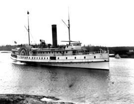 SS Olympian arriving at Victoria.