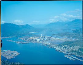 Aerial, Pulp Mills On Watson Island, Prince Rupert