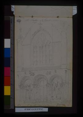 P[Ortal] Of W. Front, St. Saveurs, Dinan, France.