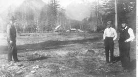 Clearing Land At Bella Coola.