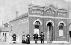 """Bavaria Brewery, H. Walther, Proprietor"", Fort Street, Victoria."