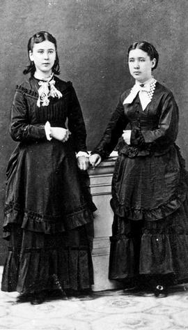 Ellen and Nancy Cohen, orphans raised by the Sisters in the Victoria convent.