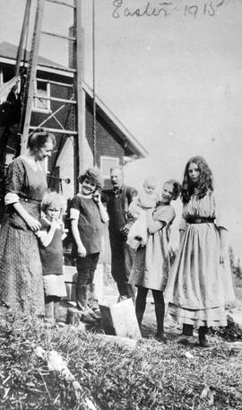 """Easter 1915""; Mrs. C.E. Tisdall and family"