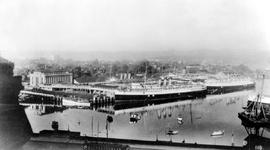 """CPR Docks and Office, Victoria, BC."""