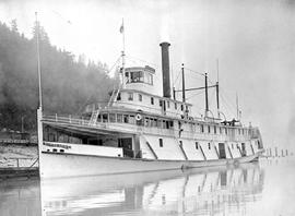 """Steamer Rossland, Arrow Lakes, BC""."