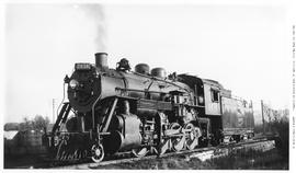 Canadian National Railway 2-8-0, No. 2434, Consolidation, 3/4 Left.  On Ashpit Track. Vancouver.