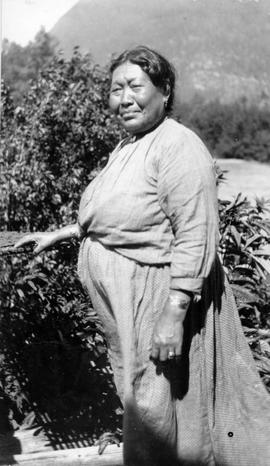 A Bella Coola woman; Raley file.