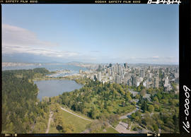 Aerial Of The West End Vancouver