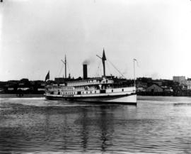 SS City of Kingston in Victoria harbour