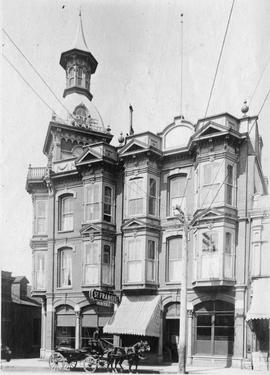 The Hotel St. Francis, lower Yates Street, between Government and Wharf Streets, Victoria, BC; Bo...