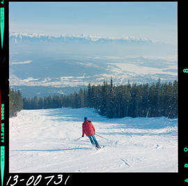 Skiing On North Star Mountain, Kimberley