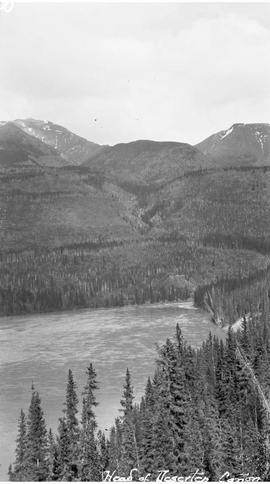Head of Deserters Canyon on the Finlay River.