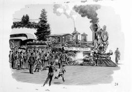 Arrival Of The First Train In Vancouver (1887), #24.