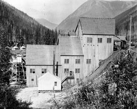 Lanark mine concentrator, Laurie mining camp