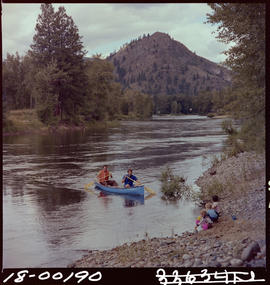 Canoeing On Kettle River Near Grand Forks