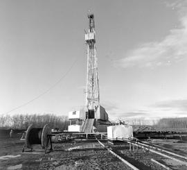 Gas Drilling Rig, Near Fort St. John