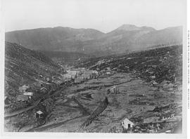View on Williams Creek looking towards Barkerville.