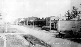 """Main Street, Sydney (sic) BC""; Beacon Avenue, Sidney."