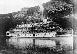 The S.S. Nasookin at Nelson