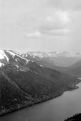 View of Duncan Lake.