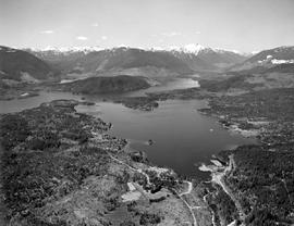 Aerial Sproat Lake