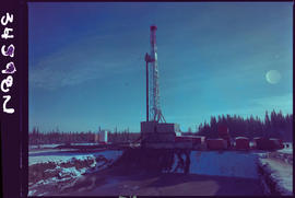 Oil Rig Near Fort Nelson