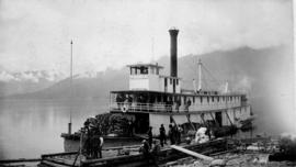 The SS Lytton at Nakusp.