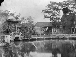 [Canton, China]  Nos. 6 and 7 take in the entrance to the Gardens, and part of the Main Building ...