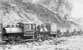 """E & N Railway construction, Port Alberni."""