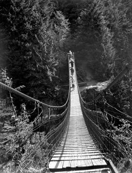 Lynn Creek Suspension Bridge