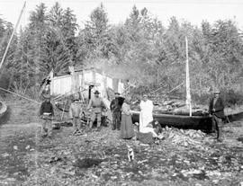 Fishing Camp At Long Arm, Queen Charlotte Islands