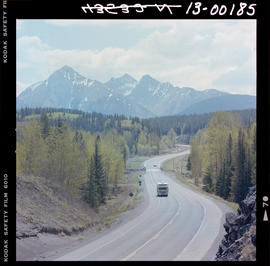 Highway 3 At Crowsnest Pass