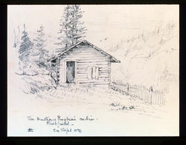 Sir Matthew Begbie's cabin at Richfield.