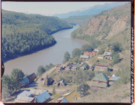 Telegraph Creek And Stikine River