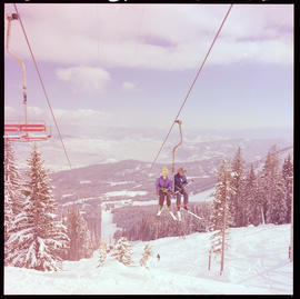 Chairlift At Red Mountain, Rossland