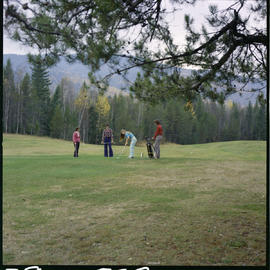 Golfing In Salmon Arm