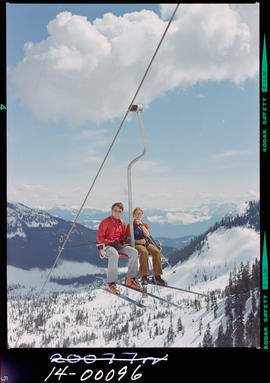 Chairlift at Hemlock Valley.