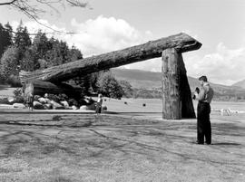 Lumberman's Arch; Vancouver, Stanley Park.