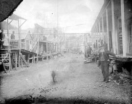 Barkerville, From Left, Joe Mason's Store, Then Roger's Store.