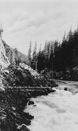 """Along the Pacific Great Eastern Railway, Near Mons, BC."""