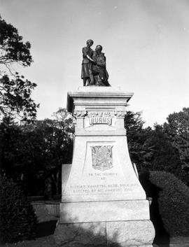 Monument To Robbie Burns, Beacon Hill Park, Victoria