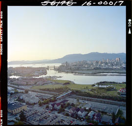 Aerial Vancouver Harbour