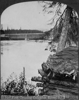 """First Crossing, Columbia River, BC""; near Donald."