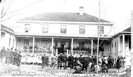 The opening of the Merritt hospital, by the Honourable Dr. H.E. Young.
