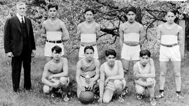Alberni Residential School basketball team