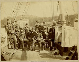 H.M.S. Rocket and her officers