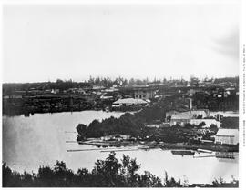 Victoria Inner Harbour Showing Dickson Campbell Wharf.