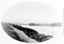 New Westminster Early View; Fraser River.